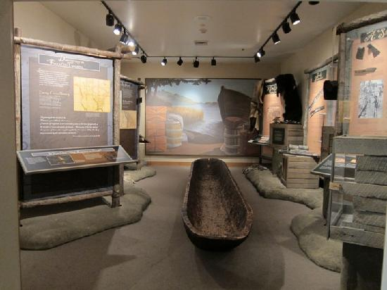 View of the Lewis and Clark exhibit