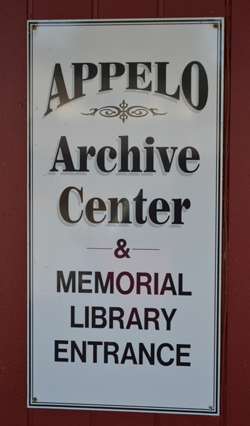 Appelo Archives Center