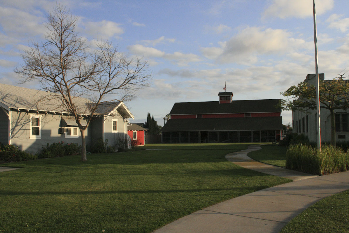 Grounds and buildings at the park and museum.
