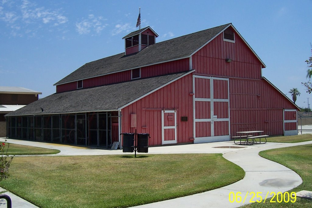 "The Warne Family ""big red barn."""