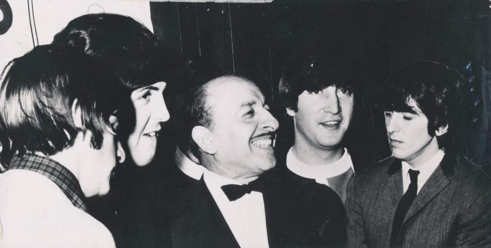 New Orleans Mayor Victor Schiro meeting The Beatles