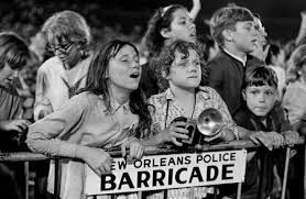 Fans and barricades they later rushed on September 16, 1964