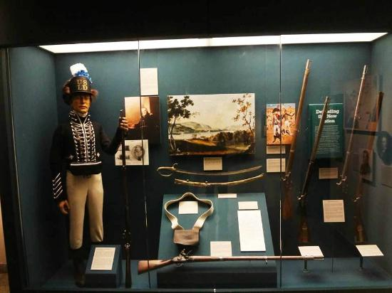 The museum offers a variety of exhibits related to each conflict in the history of the US Army