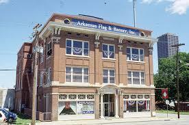 Taborian Hall today as Arkansas Flag and Banner.  Courtesy of Encyclopedia of Arkansas