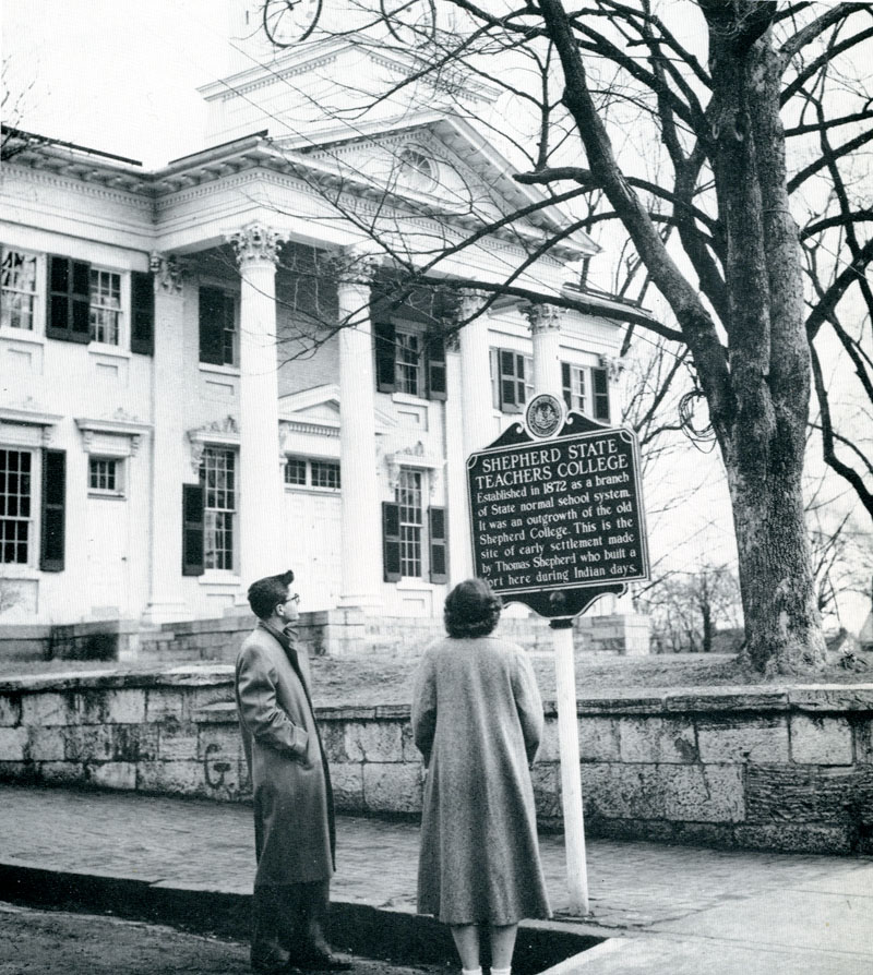 McMurran Hall circa 1954
