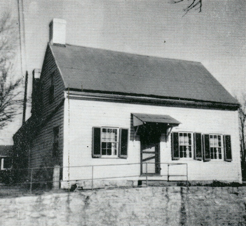 The exterior of the house in 1940-one of the final years in which it was used for home economics courses. A campus sorority used the building in the 1950s and it later became an annex.