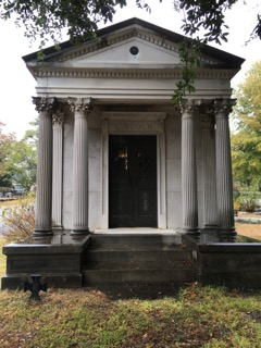 Another example of the variety of mortuary architecture. Photo taken by Randall Crawford.