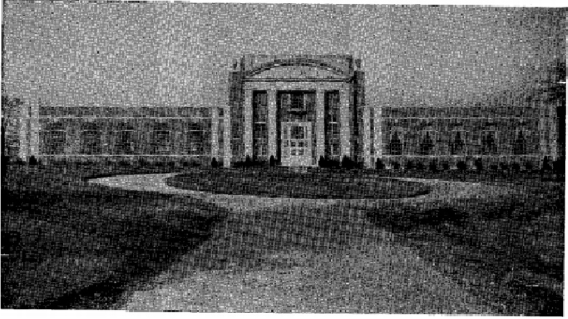 The Arkansas School for the Deaf's Parnell Hall in 1934. Image provided from Riggs, A Brief History of the Education of the Deaf in the State of Arkansas.
