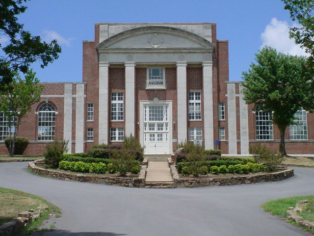 Current image of Parnell Hall. Image provided by the Arkansas School for the Deaf.