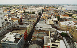 French Quarter aerial view