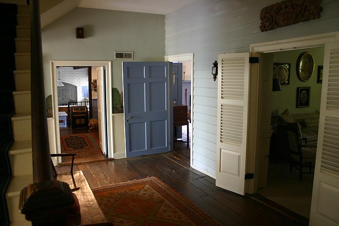 Interior of Hooper-Kyser House, circa 2007.