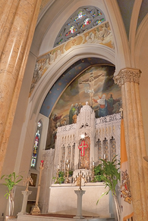 St. Malachy's interior (image from St. Malachy's official website)