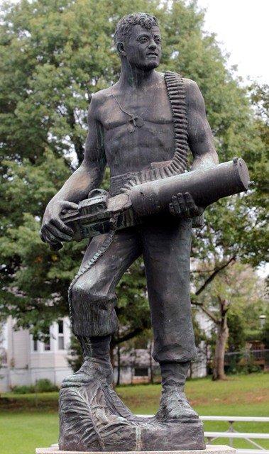 John Basilone Monument