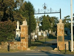 Entrance to Mount Holly. Photo by David M. Habben.