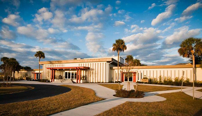 Full View of Main Building