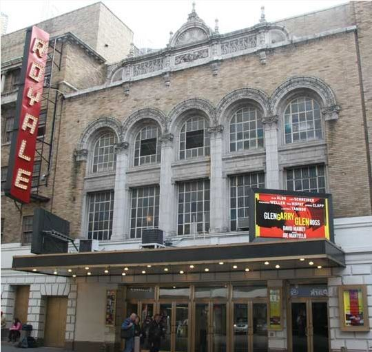 Exterior of the Bernard B. Jacobs Theatre (image from Internet Broadway Database)