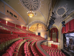 Interior of the Bernard B. Jacobs Theatre (image from the Shubert Archives)
