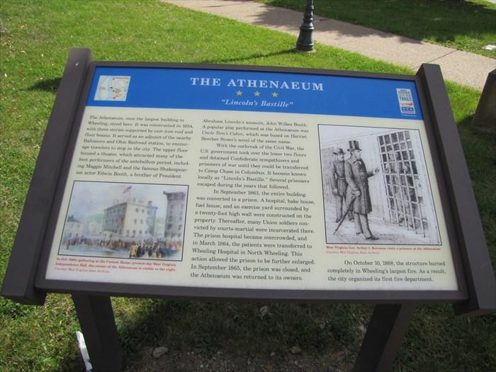 The Athenaeum historical marker