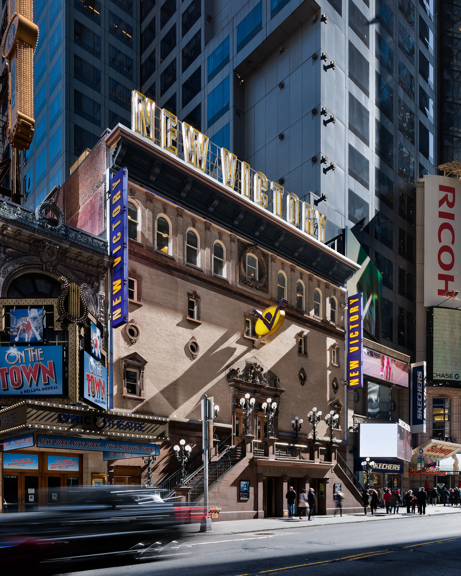 New Victory Theater (image from New Victory Theater Press Kit)