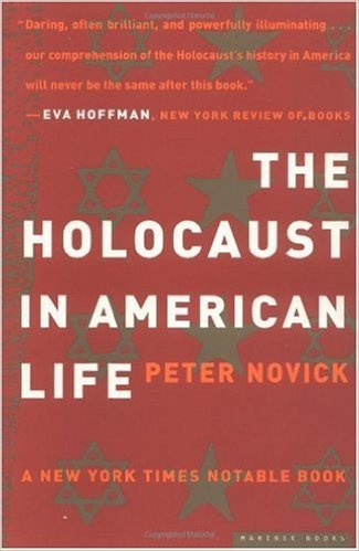 Learn more about the connections between American history and the Holocaust with this book by award winning historian Peter Novick-click the link below to learn more.