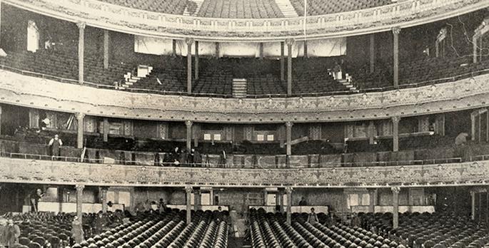 Manhattan Opera House 1906 (image from Manhattan Center Studios)