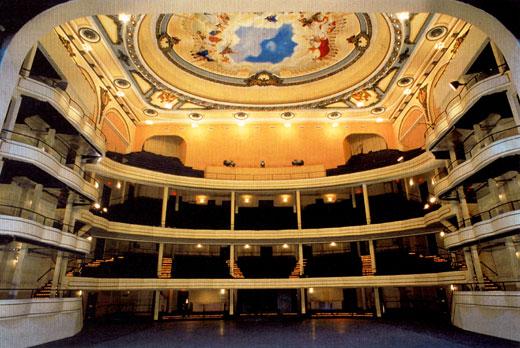 Hammerstein Ballroom at the Manhattan Center (image from Manhattan Center Studios)