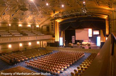 The Grand Ballroom at the Manhattan Center (image from Manhattan Center Studios)