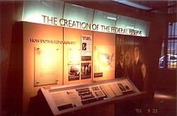 Money Museum inside the Chicago Fed