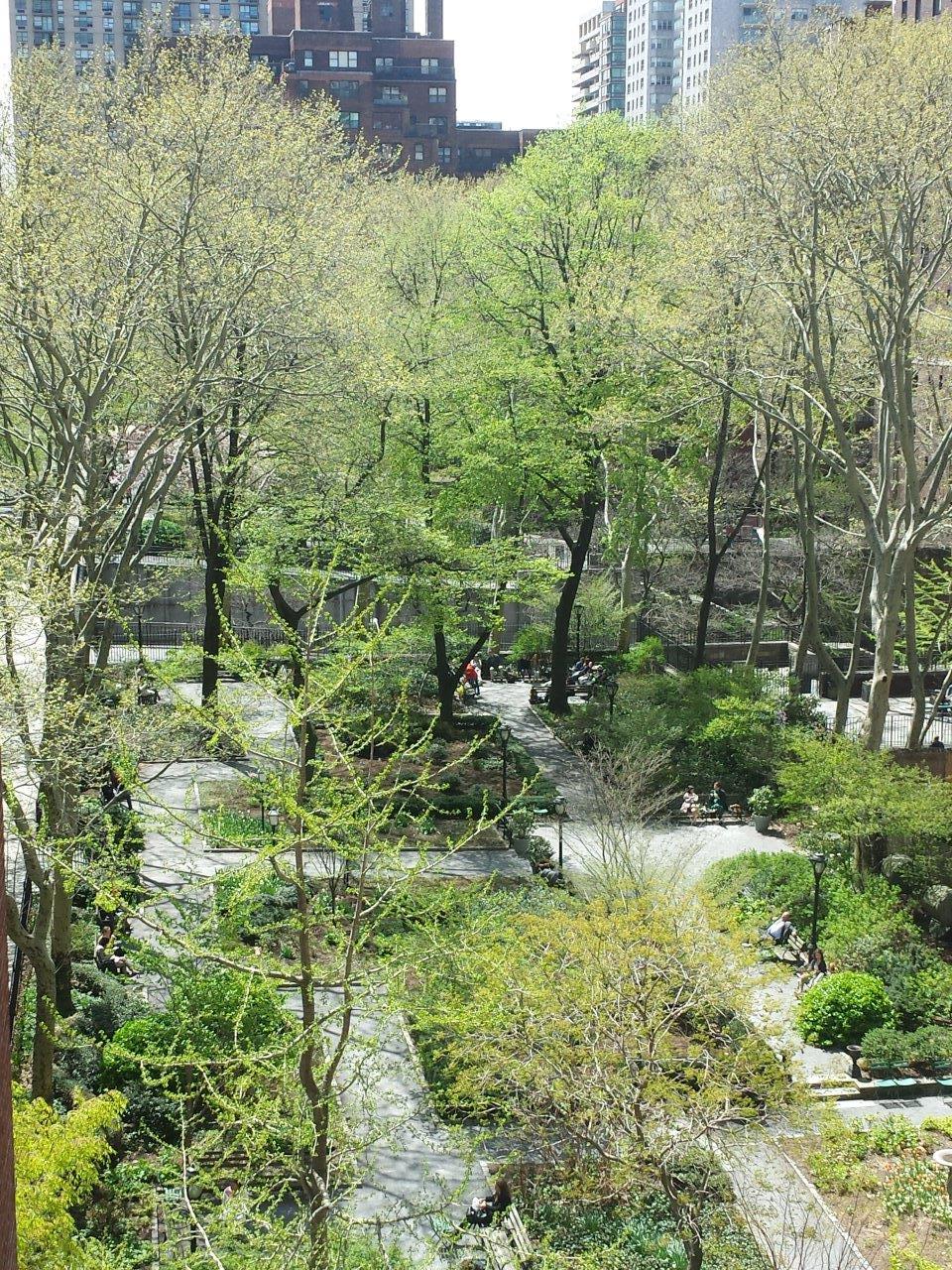 Tudor City Greens, Spring 2015 (image from Tudor City Greens)