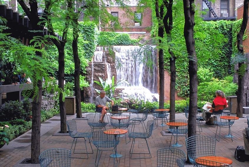 Greenacre Park (image from newyork.com)