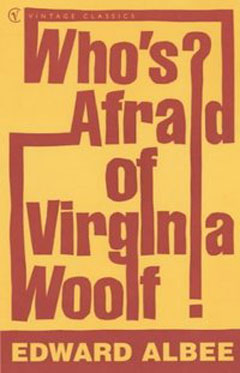 Playbill from Nederlander Theatre's production of Who's Afraid of Viginia Woolf? (image from playbill.com)