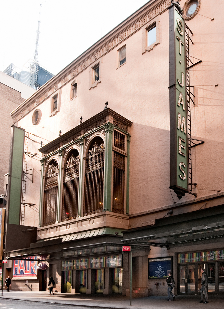 St. James Theatre (image from flickr.com)