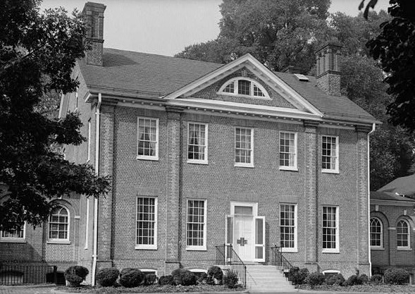 """Mount Clare"" Mansion, October 1958 HABS Photograph. Credit: Library of Congress, Prints & Photographs Division, MD,4-BALT,3-2"