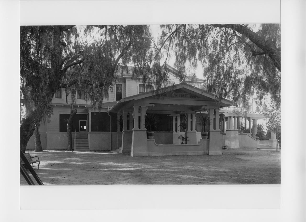The original Irvine family ranch house.