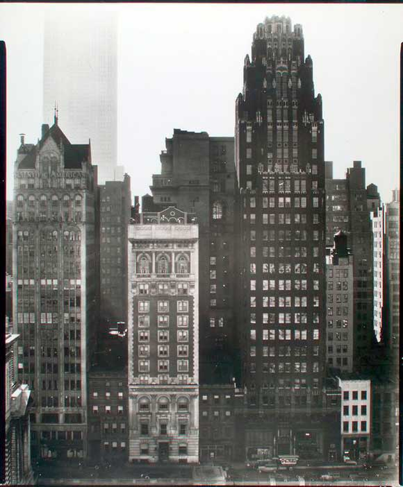 Engineers' Club, 1935 (image from the Museum of the City of New York)