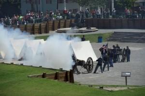 Reenactment of the Battle