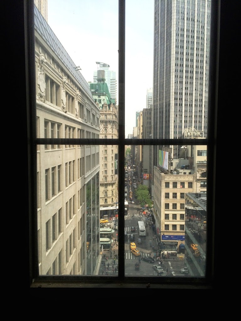 A view of the streets below (www.boweryboyshistory.com)