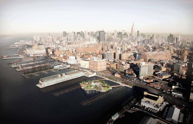 Plans to redevelop the pier (http://www.nydailynews.com/)