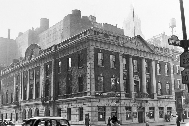 The Tammany Hall building in 1939 (http://www.wsj.com/)