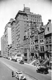 The Webster Apartments in 1934