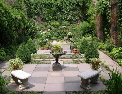 Merchant's House Museum garden (image from MHM)