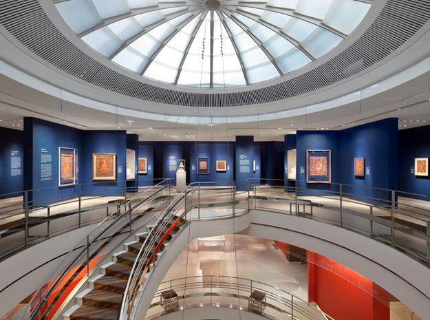 Rotunda of the Rubin Museum of Art (image from the Rubin Museum of Art)