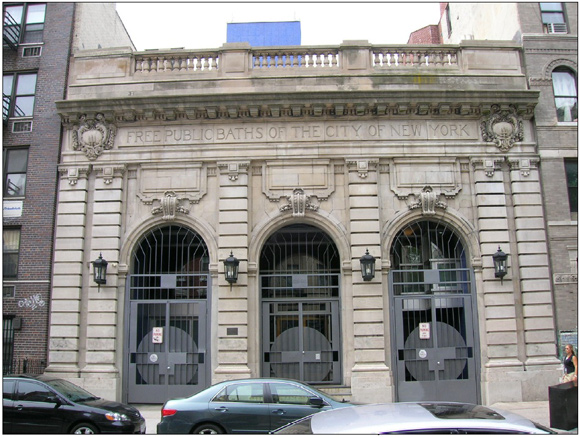 11th Street Bathhouse (image from Landmarks Preservation Commission Designation Report, 2008)