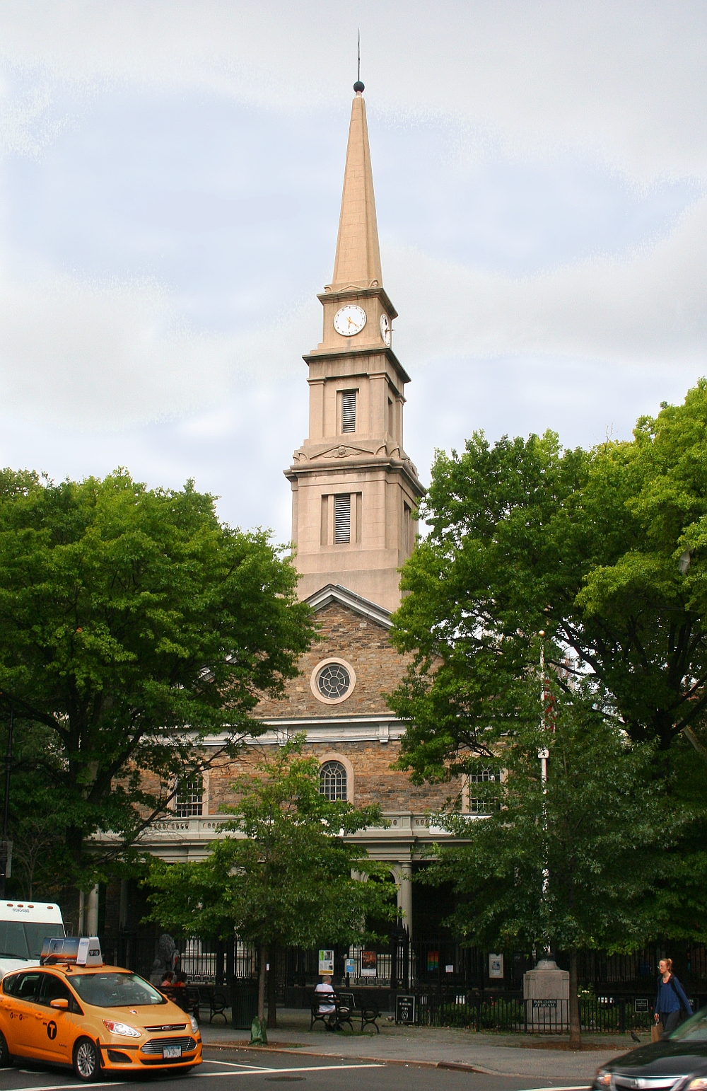 St. Mark's in-the-Bowery church (image from Gotham Trails)