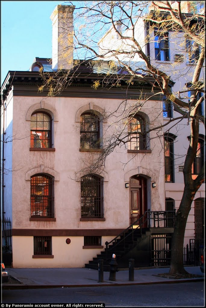Neighborhood Preservation Center (former rectory of St. Mark's in-the-Bowery) (image from Panoramio)