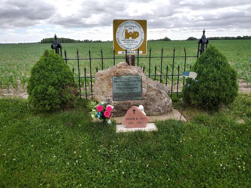 Joy Memorial Stone