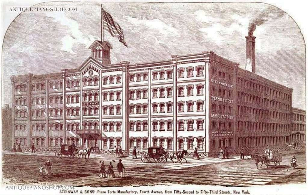 The 1860 piano factory on 4th Avenue (http://antiquepianoshop.com/)