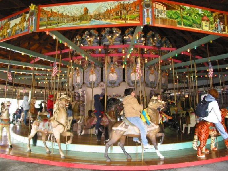 The carousel as it appears today (http://www.nycgovparks.org/)
