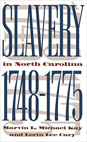 Learn more about the history of slavery in early North Carolina with this book from UNC Press
