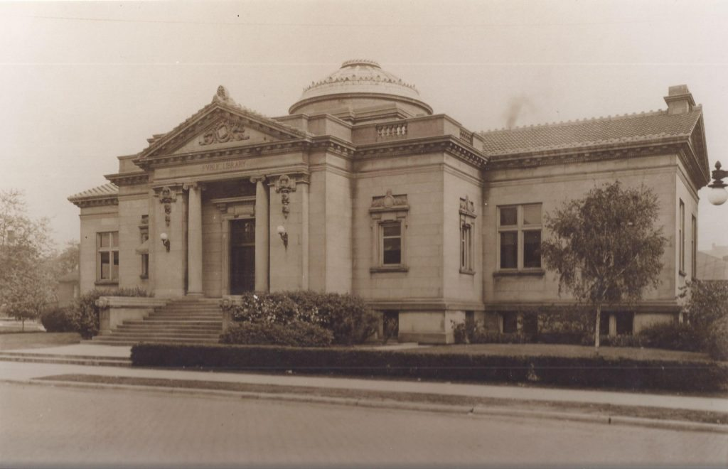 Exterior of the Carnegie Library